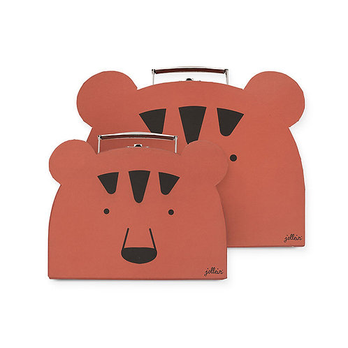 Toys suitcase Animal club rust  (2 pack)