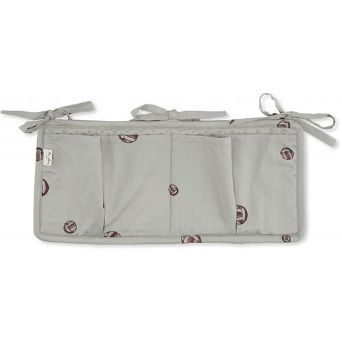 Quilted Bed Pockets - Volleyball
