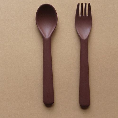 Bamboo Cutlery Set - Beet