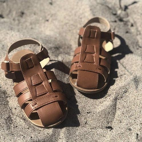 Beach Sandal Brown 18-24 months