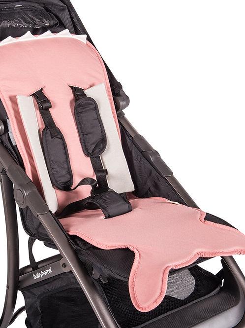 Pink Fish tail stroller pad