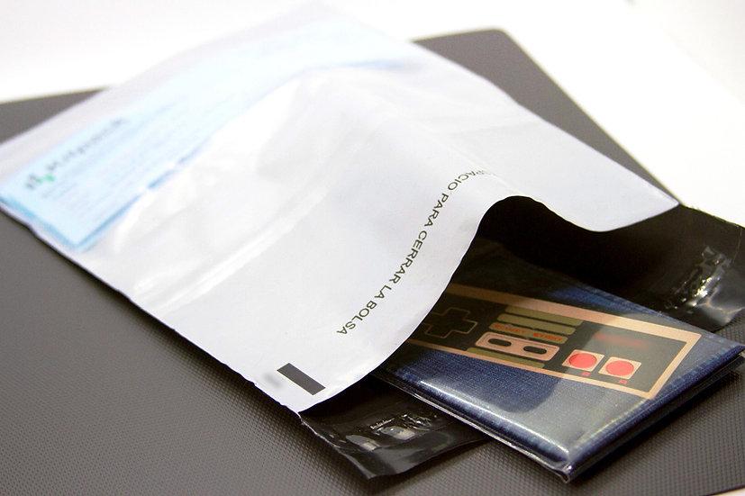 BOLSAS DE MENSAJERIA 25X37/Tamaño carta.  Paquete por 100 unidades con IVA