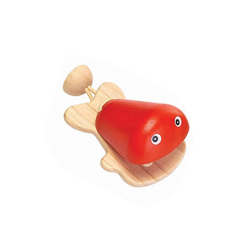 Fish Castanet red