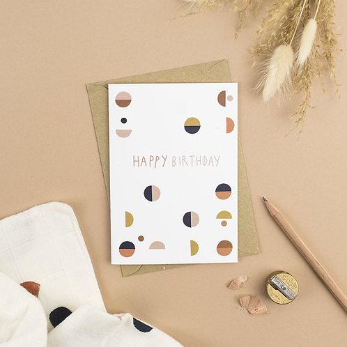 Happy Birthday Systems card