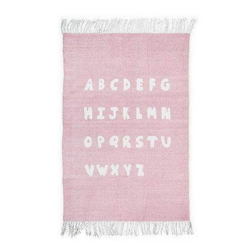Rug 90x130cm ABC blush pink