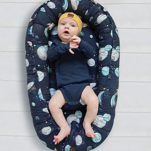 Baby Nest - Blast Off Navy