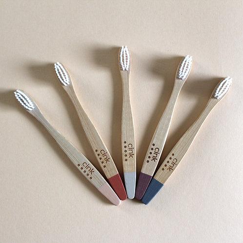 Bamboo Kid's Toothbrush (5 pack)