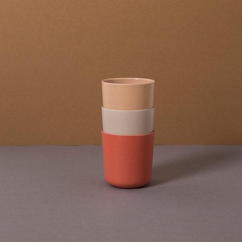Bamboo Mug (3 pack) Fog/Rye/Brick