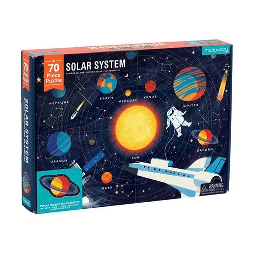 Solar System 70 Piece Puzzle