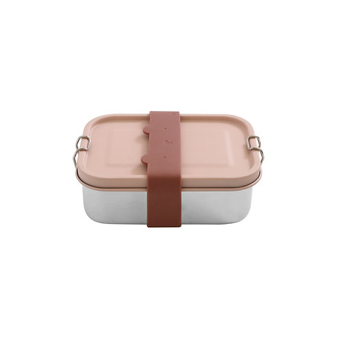 Stainless Steel Lunch Box – Rose