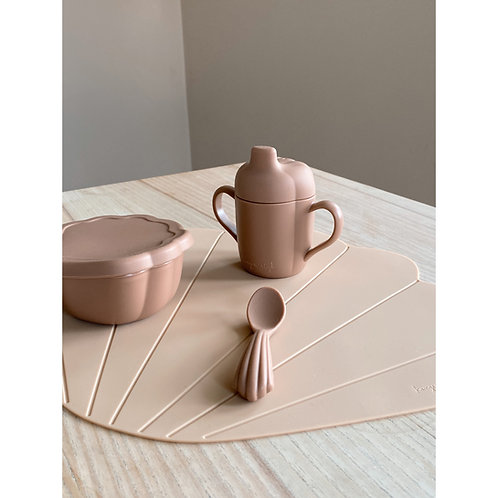Silicone Clam Set - Blush