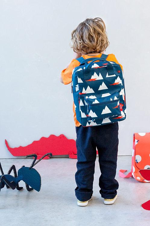 Backpack large 'Croco'