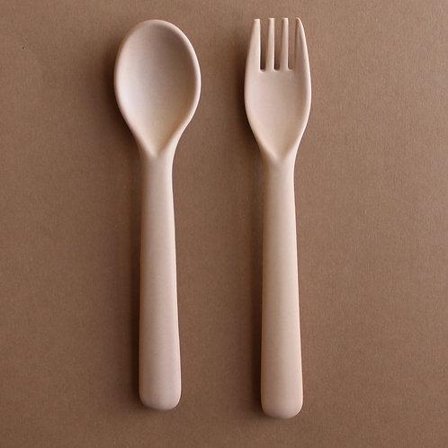 Bamboo Cutlery Set - Rye