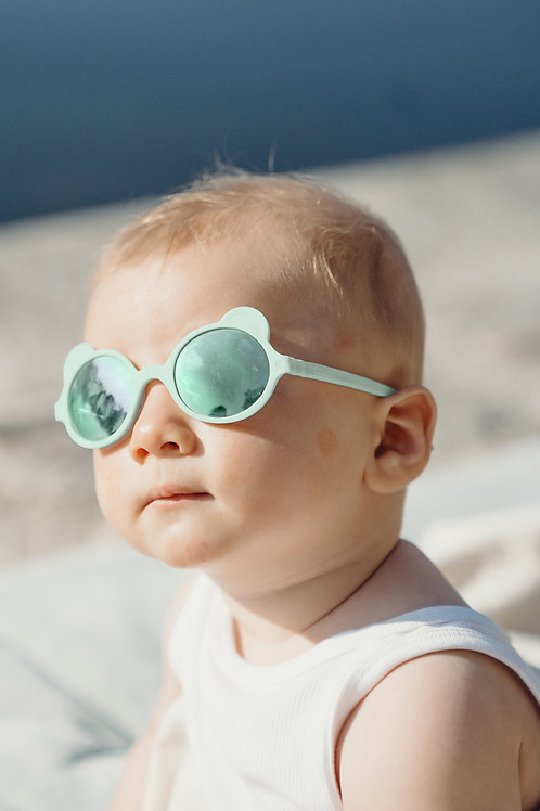Sun glasses - Ourson Almond Green 1-2 year old