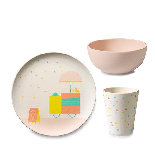 Tableware Set Ice cream