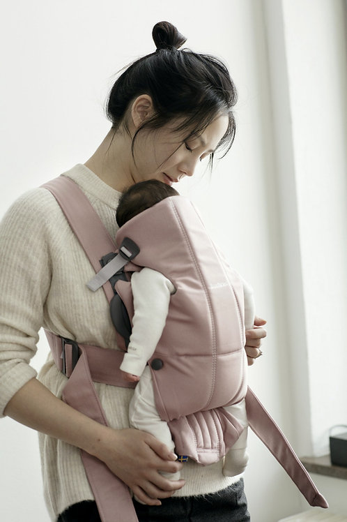 Baby Carrier Mini - Dusty pink