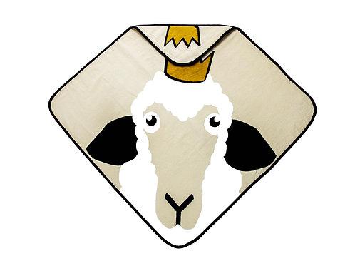 Hooded Towel - Sheep beige