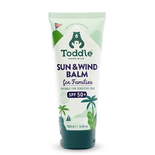 Natural Sun & Wind Balm for families
