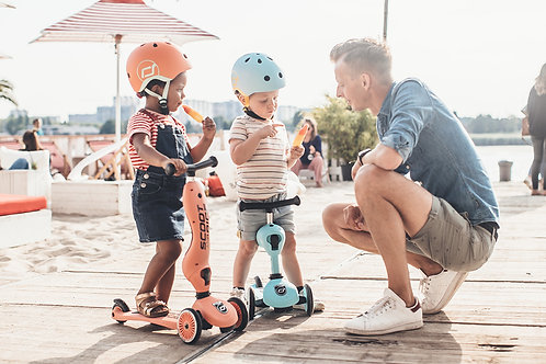 Scoot & Ride Highway Kick 1 - Peach