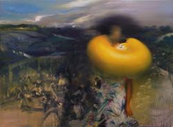 Survivor I, 90x120cm,oil on canvas,2019.