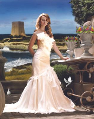 Fine Art Bridal Portrait Sydney Australia