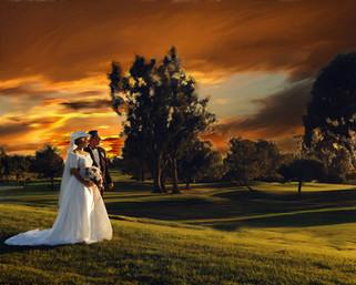 Bride and Groom Portrait Torrey Pines, CA
