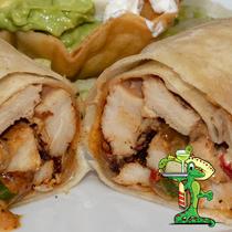 Chicken Fajita Burro