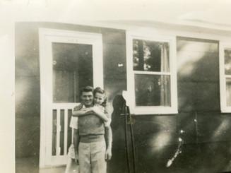 Martha & Lloyd Ahlschwede, 1946