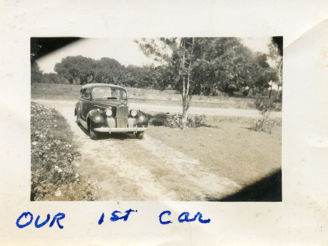 Martha & Lloyd Ahlschwede's First Car