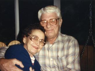 """Martha & Lloyd Ahlschwede on the """"Back 40"""""""