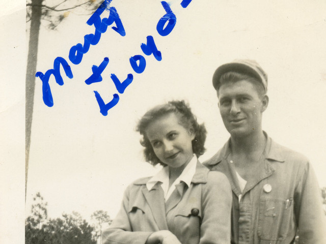 Martha and Lloyd Ahlschwede