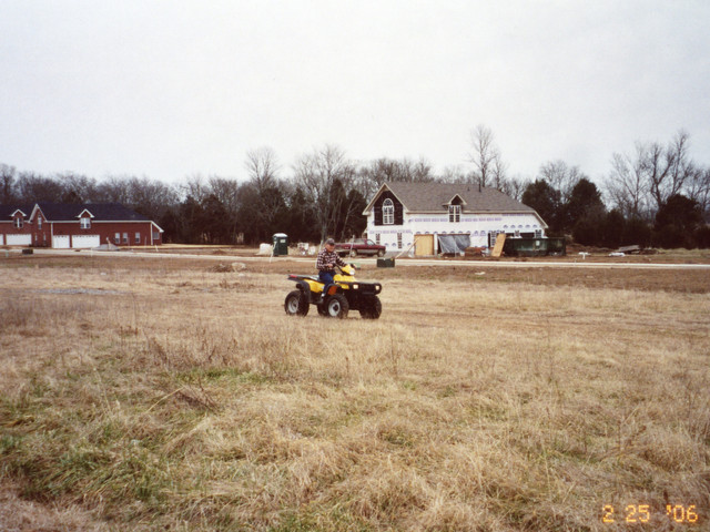Lloyd Ahlschwede on Four Wheeler