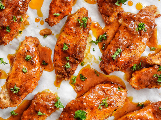 HOT HONEY CHICKEN WINGS