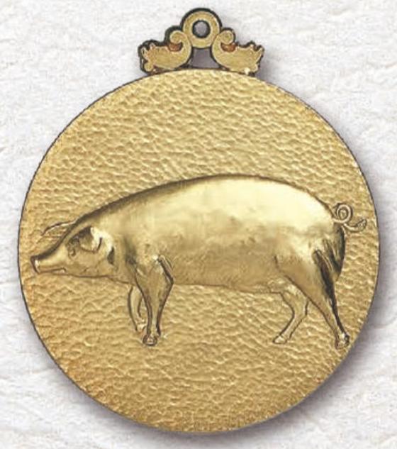 メダルMM-86 豚