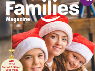 Featured in the national Families Magazine