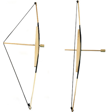 Bow and 3 arrows