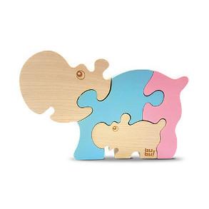 Hippo 3D Puzzle