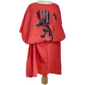 Black lion knight tunic
