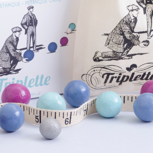 Triplette - a game with marbles
