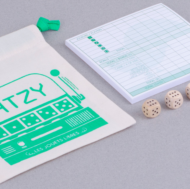 Yatzy - board game for kids