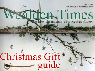 We featured in the Wealden Times Christmas Gift Guide