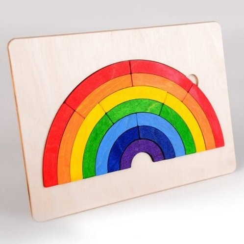 rainbow, rainbow game, board game, wooden toys, educational game, wooden educational game, games about colours