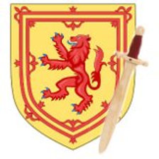 Robert the Bruce Shield and Sword