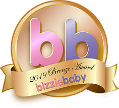 Bizzie Baby Bronze award for the fox wooden teether and wooden toy