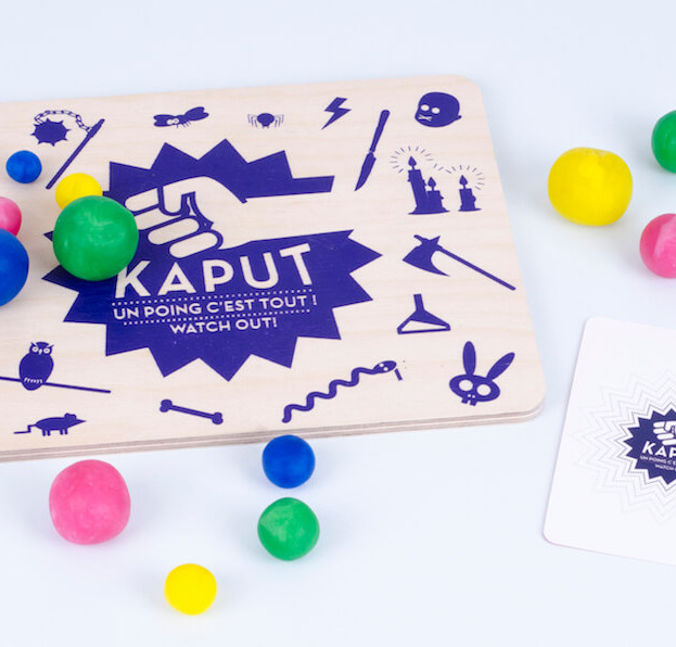 Kaput game - travel board game