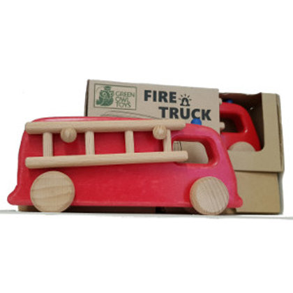 Fire engine toy, wheeled toys, wooden car toys,fire truck,fire engine UK,childs fire engine,toy fire truck,woody cars