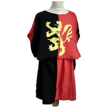 Two-tone knights tunic