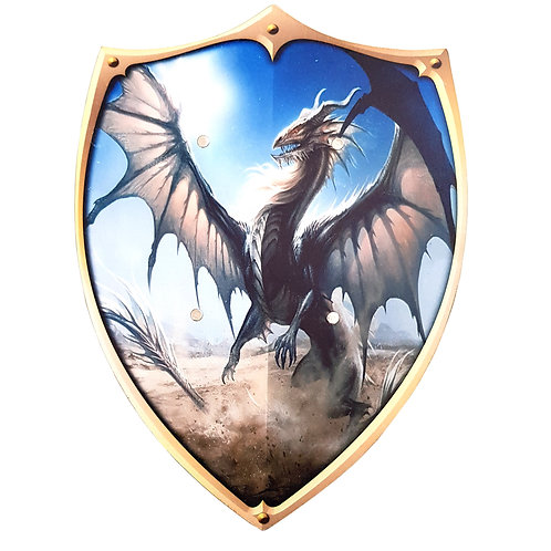 dragon fire breathing,dragonfire shield,wooden shield,wood shield,wood shields,toy shield,shield toy,toy shields