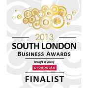 Logo for South London Business Awards 2013