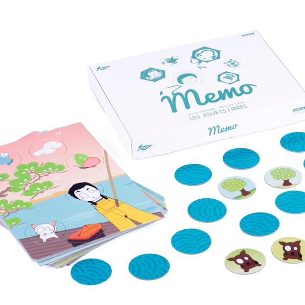 Memo game - card game